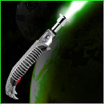 Jedi lFantasy Light-saber - Green Falcon