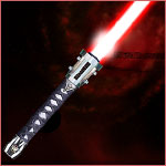 Fantasy Light-saber - The Red Samurai